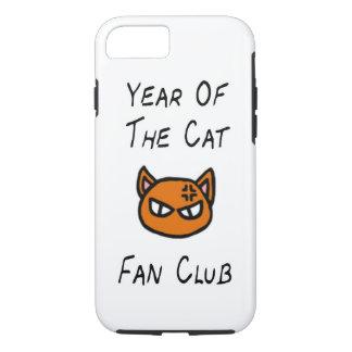 Jahr des Katzen-Fanclub-Falles iPhone 8/7 Hülle