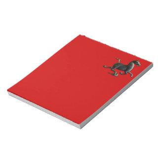 Jahr des Pferdechinesischen Tierkreis-Notizblockes Notizblock