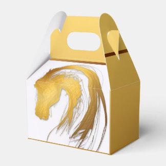 Jahr des Pferdgiebel-Bevorzugungs-Kastens Geschenkschachtel