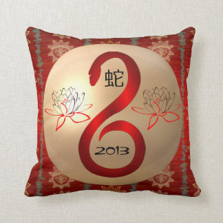 Jahr des Schlange 2013 Reversiblekissens Kissen
