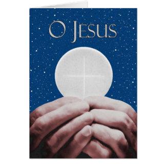 Jahrestag der priesterlichen grußkarte