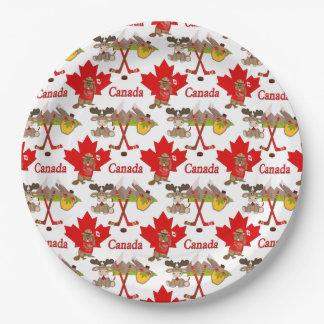 Jahrestag des Ahornblatt-Kanadier-150 Pappteller