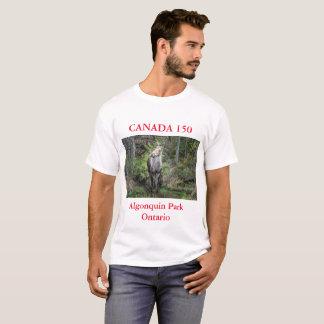 Jahrestag Kanadas 150,    Kanada-Elch-Foto T-Shirt