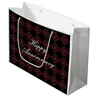 Jahrestags-Geschenk-Tasche Große Geschenktüte