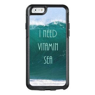 J'ai besoin du voyage de Mer de vitamine/du cas Coque OtterBox iPhone 6/6s