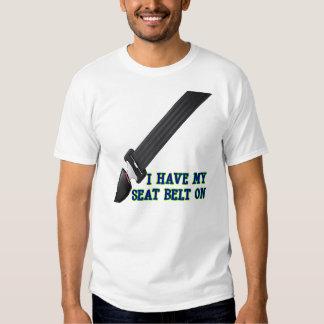 J'ai ma ceinture de sécurité Dessus Tshirt