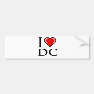 J'aime C.C - District de Columbia Adhésif Pour Voiture