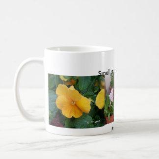 J'aime des fleurs mug