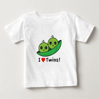 J'aime des jumeaux : Deux pois dans une cosse T-shirts