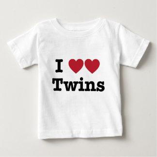 J'aime des jumeaux tshirts