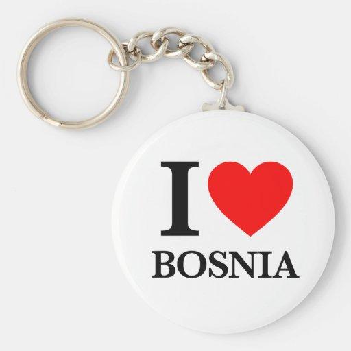 J'aime la Bosnie Porte-clef