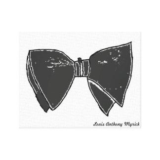 J'aime la copie étirée de toile de cravates d'arc toile tendue