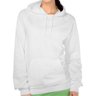 J'aime la MUSIQUE de PUCE Sweatshirts Avec Capuche