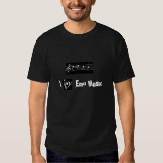 J'aime la musique de Shostakovich/emo Tshirts