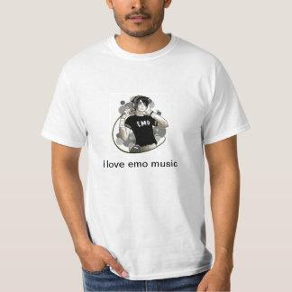 J'aime la musique d'emo t-shirt