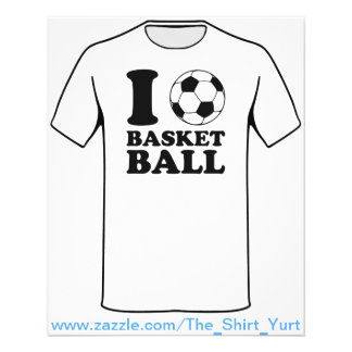 J'aime le basket-ball de ballon de football prospectus