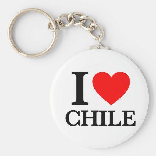 J'aime le Chili Porte-clef