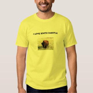 J'aime le Dakota du Sud ! Tee-shirts