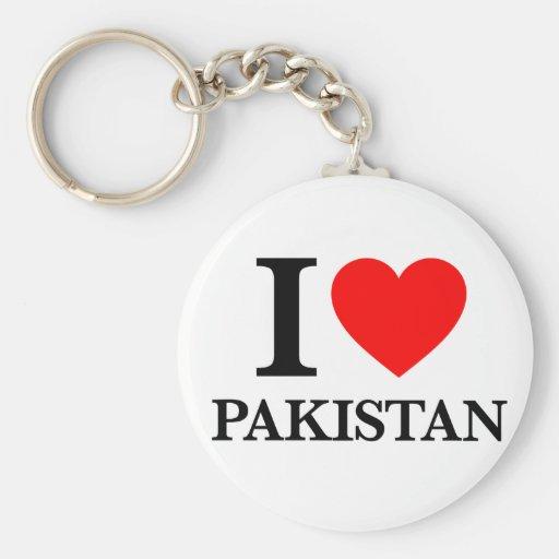 J'aime le Pakistan Porte-clés