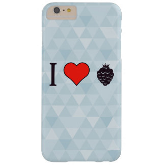 J'aime les baies sauvages coque barely there iPhone 6 plus