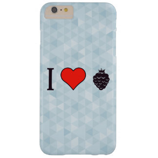 J'aime les baies sauvages coque iPhone 6 plus barely there