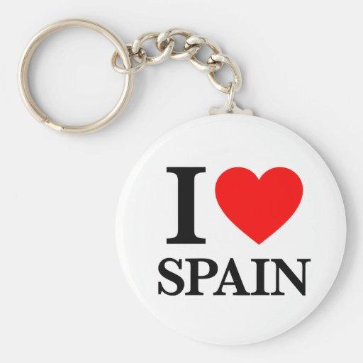 J'aime l'Espagne Porte-clés