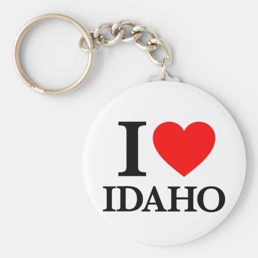 J'aime l'Idaho Porte-clé