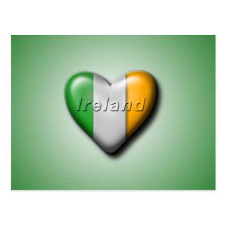 J'aime l'Irlande Carte Postale