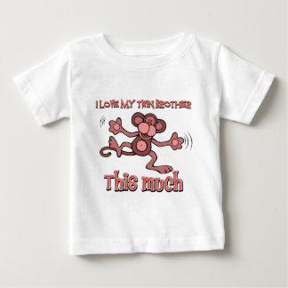 J'aime ma soeur jumelle cette beaucoup t-shirts