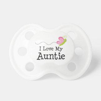 J'aime ma tante tétines