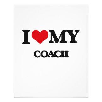 J'aime mon entraîneur prospectus personnalisés