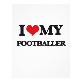 J'aime mon footballer prospectus en couleur