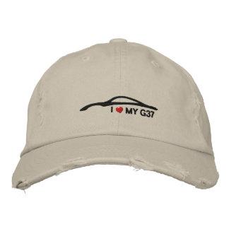 J'aime mon G37 Chapeau Brodé