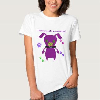 j'aime mon petit monstre tee-shirts
