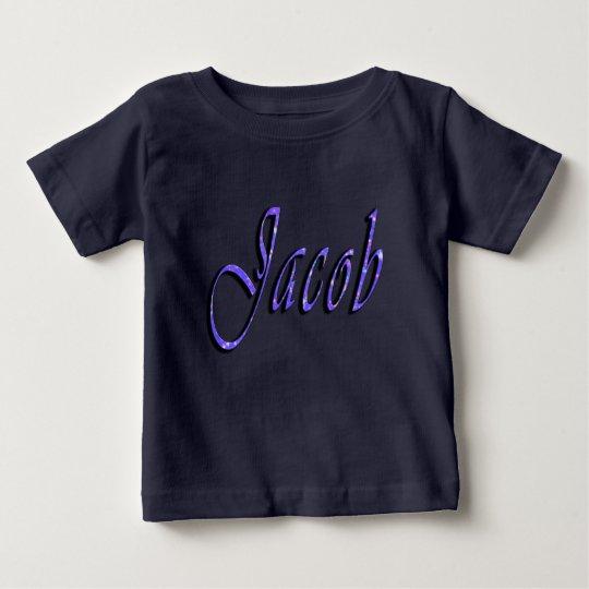 Jakob, Name, Logo, die Marine-Blau-T - Shirt des