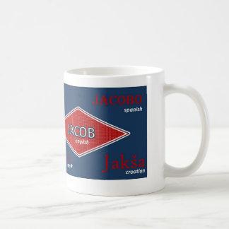 Jakobinternationale NamensTasse Kaffeetasse