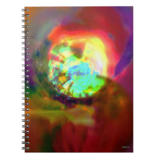 Jam_Jar_Marr ursprüngliches Kunst-Notizbuch Notizblock