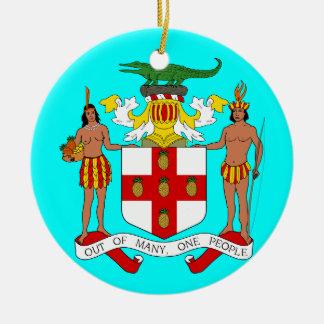 JAMAICA* kundenspezifische Weihnachtsverzierung Keramik Ornament