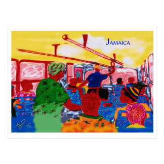 JamaicanBusRide Postkarte