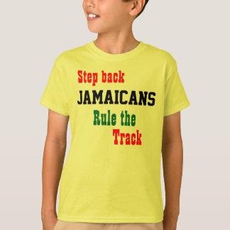 Jamaika 4 durch 100 Meterrelais T - Shirts