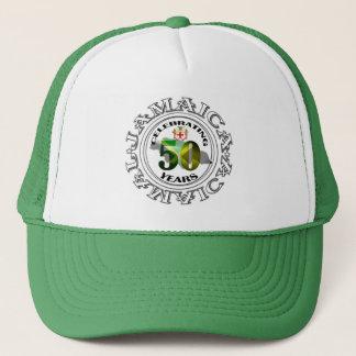 Jamaika 50 Jahre Unabhängigkeits-Feier-Hut- Truckerkappe