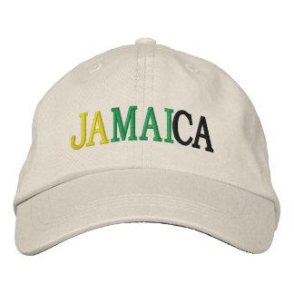 JAMAIKA BESTICKTE BASEBALLKAPPE