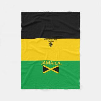 Jamaika-Designer-Decke Fleecedecke