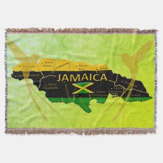 Jamaika-Farbgemeinde-Sonnenlicht-Wurfs-Decke Decke