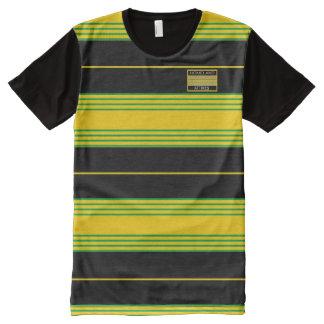 Jamaika-Farbmoderne moderne T - Shirt-Ferien T-Shirt Mit Bedruckbarer Vorderseite