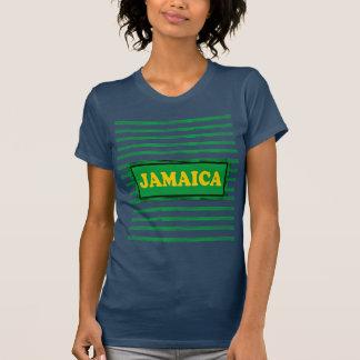 Jamaika färbt modernen T - Shirt der