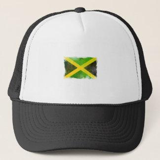 Jamaika-Flagge - Reggaewurzeln Truckerkappe