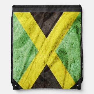 Jamaika-Flagge Turnbeutel