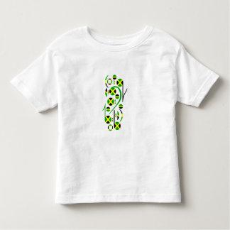 Jamaika-Flaggen-musikalische T-shirts