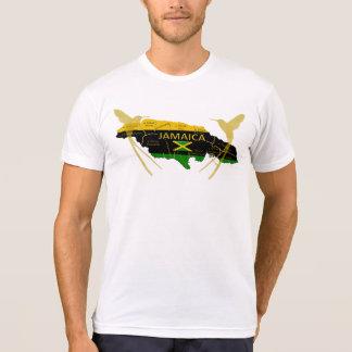 Jamaika-Gemeinde-FarbgoldsummenT - Shirt